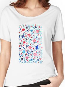 Pink Garden Women's Relaxed Fit T-Shirt