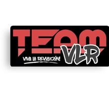 TeamVLR Logo Transparent Canvas Print