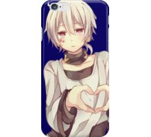 konoha looking composed iPhone Case/Skin
