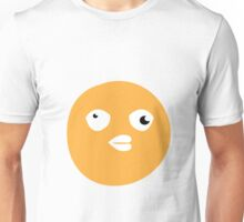 Crazy yellow funny bitch babble head duck Unisex T-Shirt