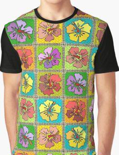 Hibiscus Fruit Salad Graphic T-Shirt