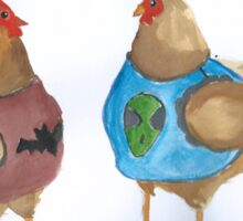 Cluck the Police Sticker