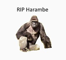 Harambe Tribute Unisex T-Shirt