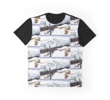 Snow and Mountains Graphic T-Shirt
