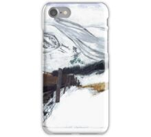 Snow and Mountains iPhone Case/Skin