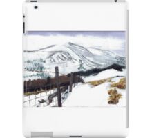 Snow and Mountains iPad Case/Skin