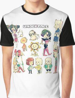 Undertale Chars Graphic T-Shirt