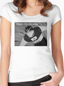 Tobor the 8th Man Women's Fitted Scoop T-Shirt
