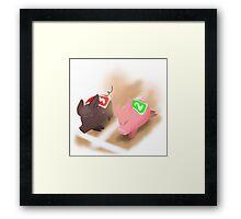 Ham Hocks and Bacon Bits Framed Print
