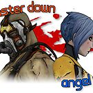 Monster Down, Angel Up by voyev0da