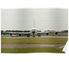 Boeing RC-135 at Waddington Airshow Poster