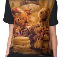 Bear Stories:  A Teddy Bear Bear-thday Party Chiffon Top