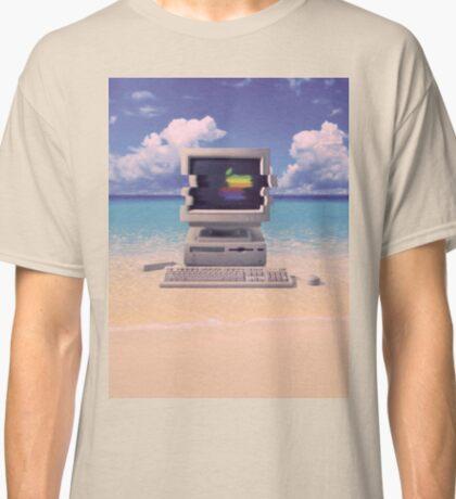 Vaporwave Macintosh - No Text Classic T-Shirt