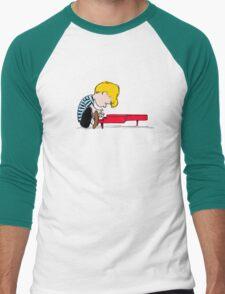 Piano Man Men's Baseball ¾ T-Shirt