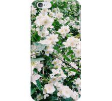 Weiße Blumen iPhone Case/Skin