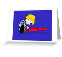Piano Man Greeting Card