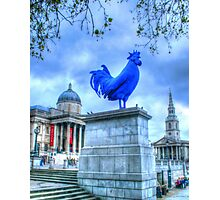 Trafalgar Blue Photographic Print