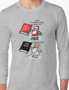 God & Santa Children's Books Long Sleeve T-Shirt