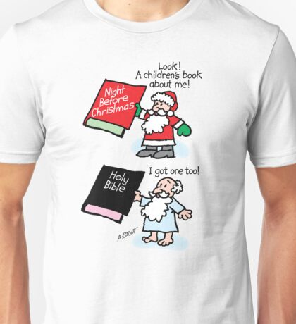 God & Santa Children's Books Unisex T-Shirt