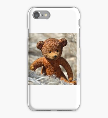 Teds Found Some Soft Rope At The Harbour iPhone Case/Skin