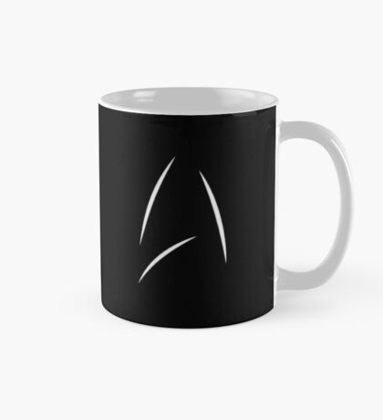 Star Trek Beyond - Starfleet Logo as seen on Captain Kirk's Mug BLACK Mug