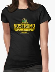 Nostromo Alien Womens Fitted T-Shirt