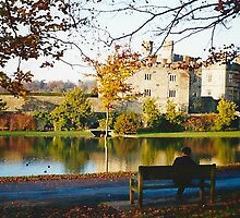 Autumn at Leeds Castle, Kent UK by GeorgeOne