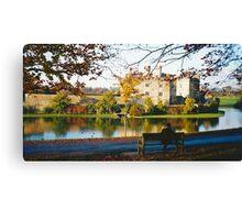 Autumn at Leeds Castle, Kent UK Canvas Print