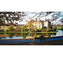 Autumn at Leeds Castle, Kent UK Photographic Print