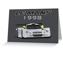 Le Mans Legend #35 - Mercedes-Benz CLK-LM Greeting Card