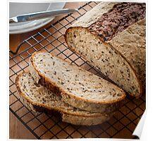 Multigrain Honey Bread Poster