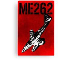 Messerschmitt Me262 Aircraft Canvas Print