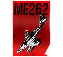 Messerschmitt Me262 Aircraft Poster