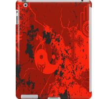 Organic Religion (red) by Cal-and-Ra iPad Case/Skin
