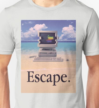Vaporwave Macintosh Unisex T-Shirt
