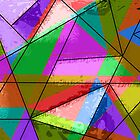 Colorful triangle design by RosiLorz