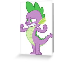Spike, the strong !  Greeting Card