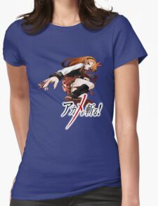 chelsea ready for battle Womens Fitted T-Shirt