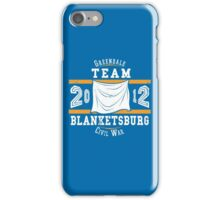 Team Blanketsburg iPhone Case/Skin