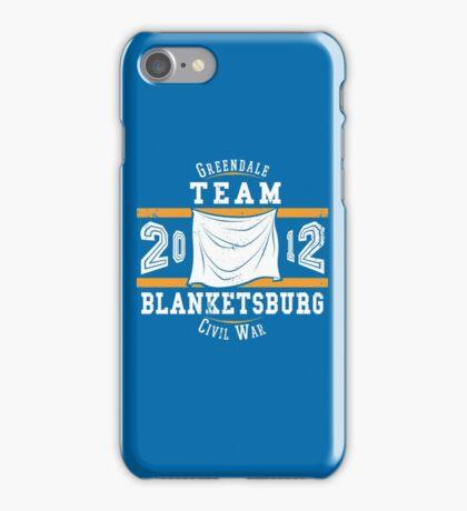 Team Blanketsburg iPhone Case/Skin