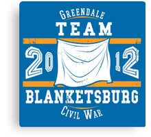 Team Blanketsburg Canvas Print