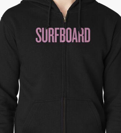 surfboard Zipped Hoodie
