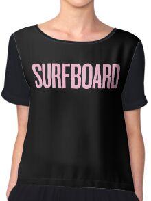 surfboard Chiffon Top