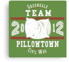 Team Pillowtown Canvas Print