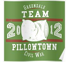 Team Pillowtown Poster