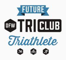 DFW Tri Club - Future Triathlete One Piece - Short Sleeve