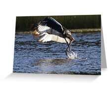 Dancing On Water Greeting Card