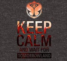 Keep Calm and wait for Tomorrowland festival - Crowd - People -Party Unisex T-Shirt