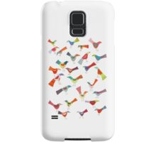 Birds doing bird things Samsung Galaxy Case/Skin