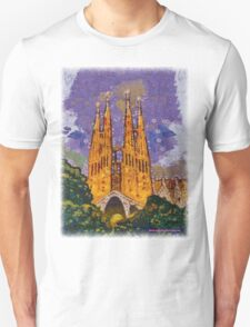 Sagrada Familia Modernism T-Shirt